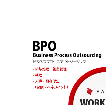 BPO (Business Process Outsourcing) Payroll processing / Attendance management, Accounting, Human resources / Employee benefits (Insurance / Benefits)