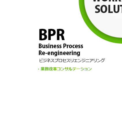 BPR (Business Process Re-engineering) Operational reform consultations