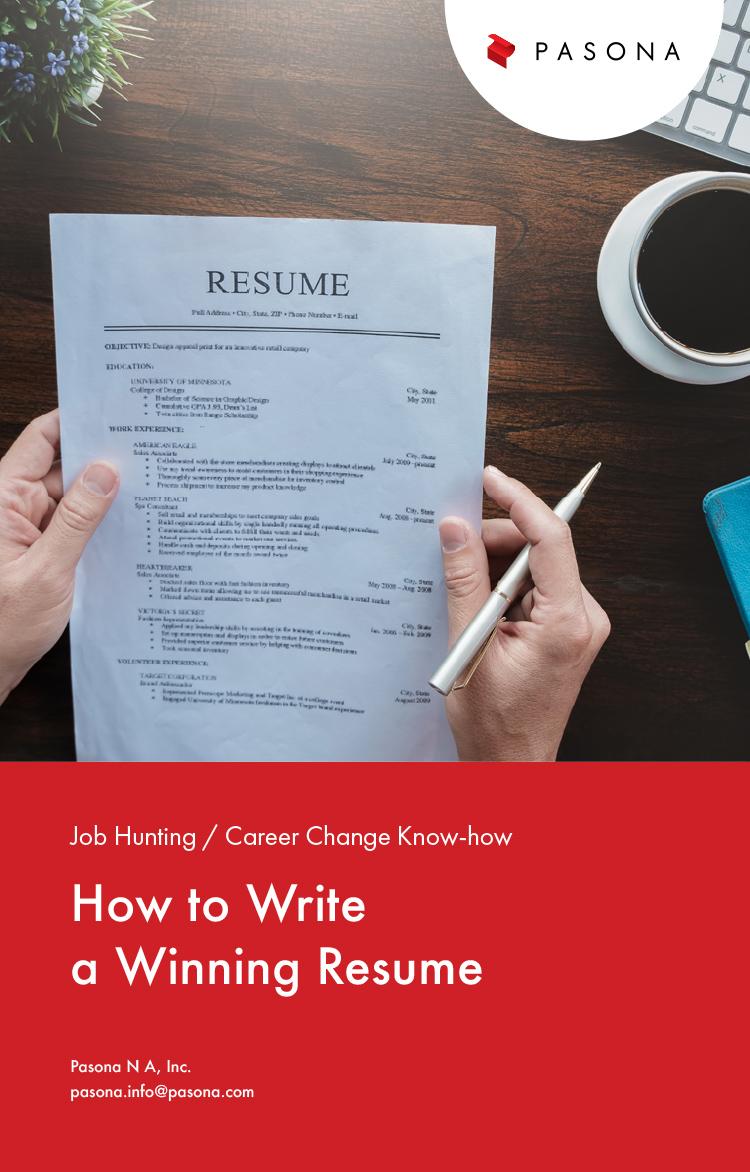 How to Write a Winning Resum