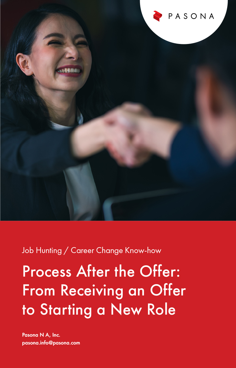 Process after the Offer: From Receiving an Offer to Starting a New Role